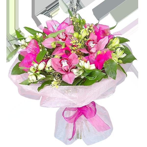 Купить букет орхидей