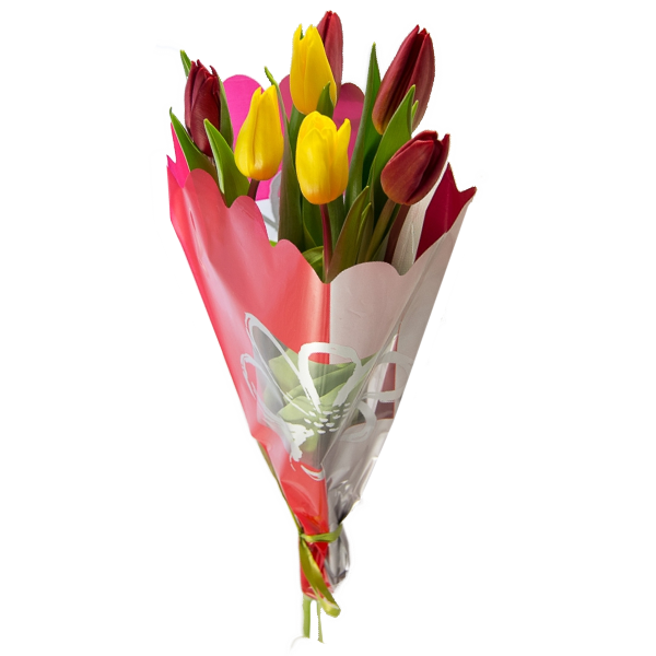 Букет из 7 тюльпанов, Bouquet of 7 tulips