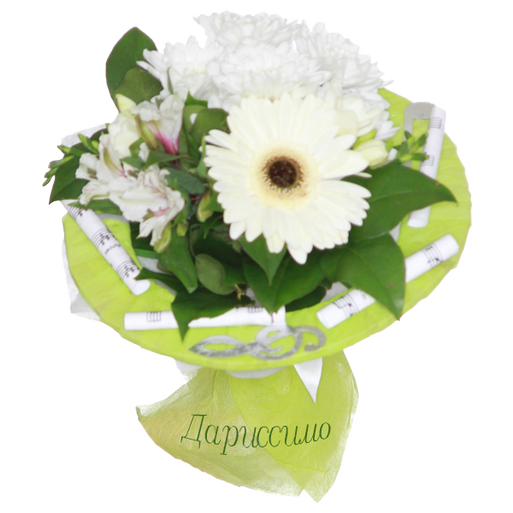 "Букет с герберой ""Моя мелодия"", Bouquet with gerberas my melody"