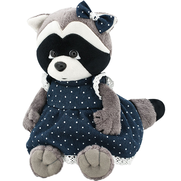 Raccoon Daisy denim romance