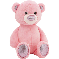 Fuzzy little bear pink