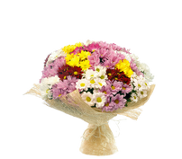 bouquet with chrysanthemum Spring melody