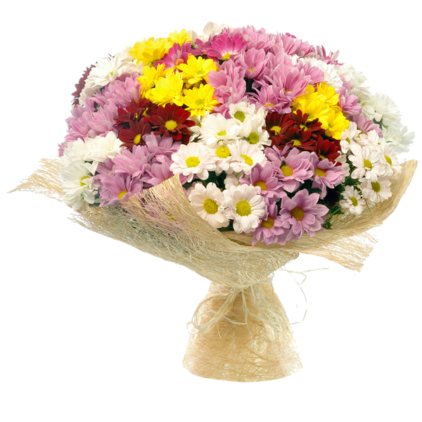 "Букет из Хризантемы ""Весенняя мелодия"", bouquet with chrysanthemum Spring melody"