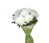 "Букет из хризантем ""Нежность"", bouquet with chrysanthemum tenderness"