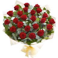 Bouquets of 23 roses