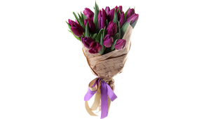 "Bouquet of tulips ""Bright happiness"""