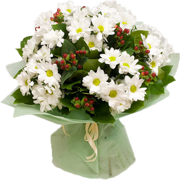 bouquet with chrysanthemum Honey