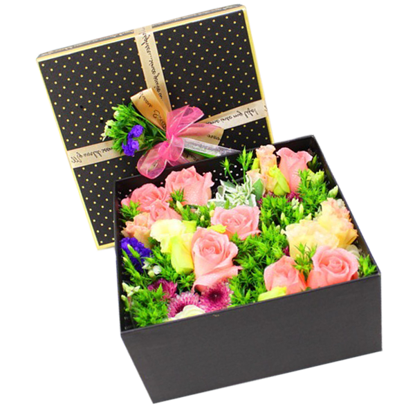 flowers in a box No. 15